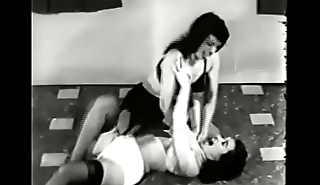 Betty Page Wrestles