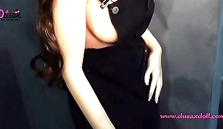 145cm (4ft9in) real lifelike full size silicone sex love doll adult toy-Emily
