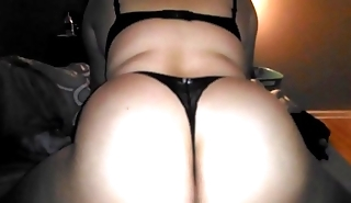 Wife in thong