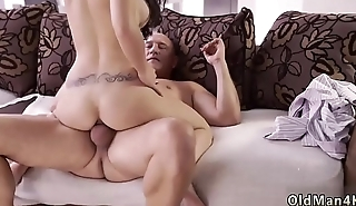Old mom anal hd and breakfast handjob man Rough fuck-a-thon for