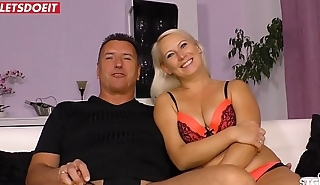 Amateur German Wife with Boss, filmed by Cuckold Husband