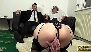 PASCALSSUBSLUTS - Leanne Morehead arse slammed before facial