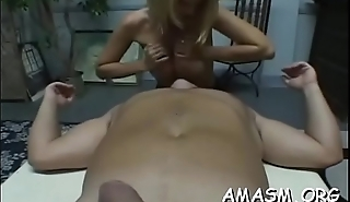 Adult females face sitting chap in dissolute femdom porn show