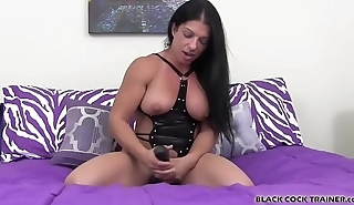 This big fat strapon is going all the way up your ass