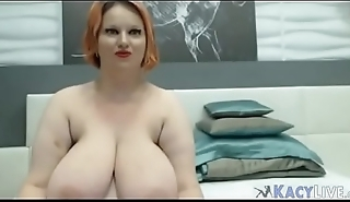 Mature Busty BBW With Huge Tits - KacyLive.com