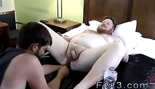 Free gay fisting boys porn Sky Works Brock'_s Hole with his Fist