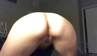 Wife tried to masturbate to my dick videos and gobbledegook stop cumming.