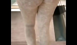 FOUND Aged VID STOLEN FROM MY Aged PAGE ME &amp_ MY CO WORKER COMIN OUT HER BUILDIN AS I RECORD HER BIG ASS