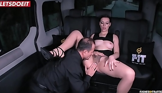 Russian Babe Gets Drilled Hardcore by the Uber Driver (George Uhl &amp_ Sarah Highlight)