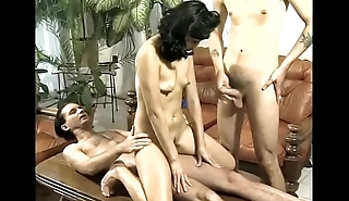 Asian milf double penetrated